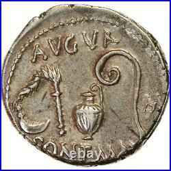 #890458 Monnaie, Julius Caesar, Denier, 46 BC, Atelier incertain, SUP, Argent