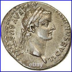 #890475 Monnaie, Tibère, Denier, AD 14-37, Lyon Lugdunum, TTB+, Argent