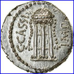 #890626 Monnaie, Cassia, Denier, 42 BC, Smyrna, Pedigree, SPL+, Argent