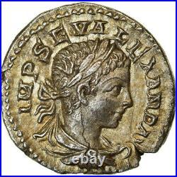 #891243 Monnaie, Alexandre Sévère, Denier, 222, Antioche, SUP, Argent