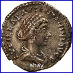 #894702 Monnaie, Lucille, Denier, 161-162, Rome, SUP, Argent, RIC791