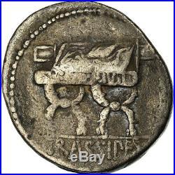 #900164 Monnaie, Furia, Denier, Rome, TB+, Argent, Crawford356/1a
