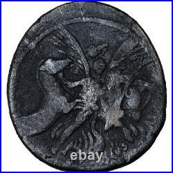 #903156 Monnaie, Plautia, Denier, Roma, TB+, Argent, Crawford453/1c