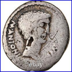 #904678 Monnaie, Marc Antoine, Denier, TB, Argent, Cohen12