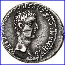 #904786 Monnaie, Caligula, Denier, Lyon Lugdunum, TB+, Argent, RIC12