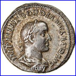 #905529 Monnaie, Gordian II, Denier, 238, Rome, SUP+, Argent, RIC3