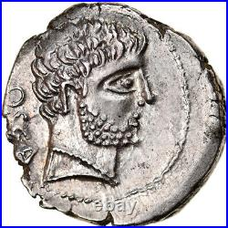 #905833 Monnaie, Domitius Calvinus, Denier, 38 BC, Osca, Très rare, SPL, Argen