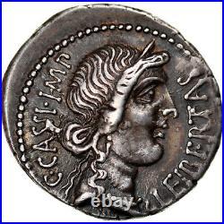 #905834 Monnaie, Cassius, Denier, Smyrna, Pedigree, SPL, Argent