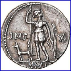 #906998 Monnaie, Auguste, Denier, 15-13 BC, Lyon Lugdunum, TTB+, Argent