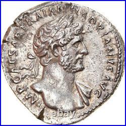 #907178 Monnaie, Hadrien, Denier, 117, Roma, SUP, Argent, RIC49