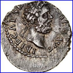 #970031 Monnaie, Clodius Albinus, Denier, 195-197, Lyon Lugdunum, TTB, Argen