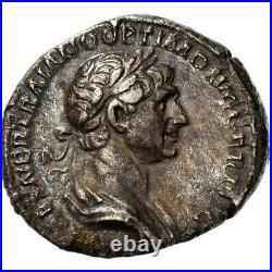 #970622 Monnaie, Trajan, Denier, 115, Rome, TTB+, Argent, RIC355