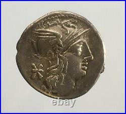 A41 Denier Republique DE P. Maenius Antiaticus ROMAN COINS MONNAIE ROMAINE
