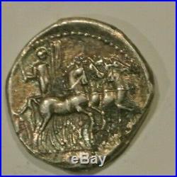 ACILIA DENIER ARGENT 130 AC R2 monnaie RARE surtout SUP poids LOURD 3GR82