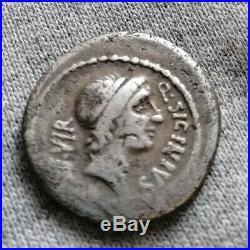 AP44 Denier République, sicinius, C. COPONIUS, PRSC