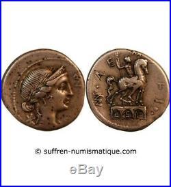 Aemilia Denier Argent 114 / 113 Av Jc Rome