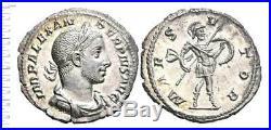 Alexandre Severe (222-235) Denier, Fdc