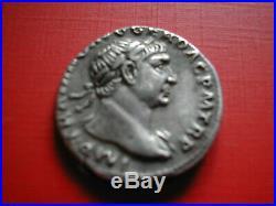 Amn. Trajan Beau Et Rare Denier D'argent Frappe A Rome Revers Le Danube
