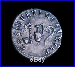Aphrodite- Romain Ancien Argent Denier D'Argent de Nerva