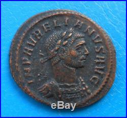 Aurélien Aurelianus denier denarius demi aurélianus VISTORIA AVG / H Rome Roma