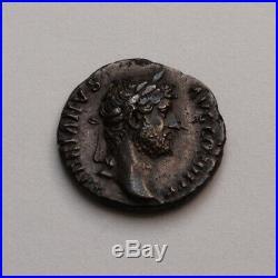 Beau denier d'Hadrien! Entre 134 et 138 ap, Rome ANNONA RIC#230 RSC#172