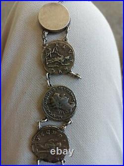 Bracelet 6 deniers argent empereurs romains