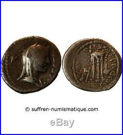 Brutus Denier Argent 42 Av Jc Rome