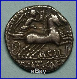 CALIDIA 116 Av J. C. TTB+ R2 -argent SUP Denier romain
