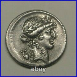 CLAUDIA Denier 42 AC Rome poids 3 gr 98 RARE état