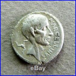 CLAUDIA Denier Rome, 50 AC RCV 409 RARE