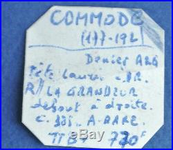 COMMODE 187 APR JC DENIER. Poids 3gr 55