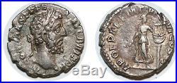 COMMODE Denier APOL PAL P M TR P XVI COS VI +189 ROME C. 25