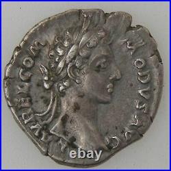 COMMODUS, Denier, R/ TR P IIII IMP III COS II P P, TTB/TTB+ Empire Romain COMMO
