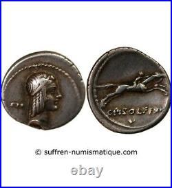 Calpurnia Denier Argent 67 Av Jc Rome