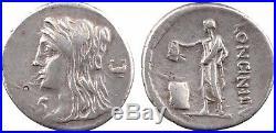 Cassia, denier, Rome, 63 avJC, Vesta 70