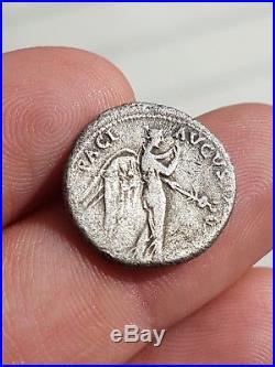 Claud denier romain argent