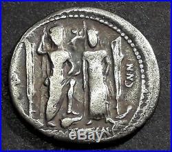DENIER EGNATIA (75 Avant J-C) Rome casquée et Vénus diadémée
