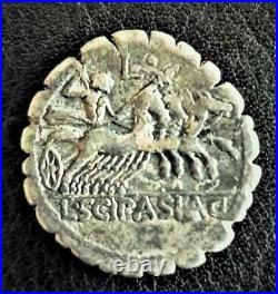 DENIER SERRATUS Cornelius Scipio Asiagenus