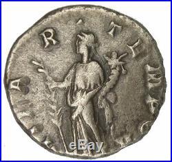 DIDIA CLARA Denarius Denier AD. 193