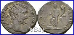 Denier 197-198 Romain Empire Septime Sévère, 193-211, Annona #KAB101