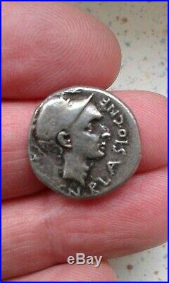 Denier Argent Cornelia 112 111 Avant Jc Poids 4 Grammes Diametre Env 1.8cm