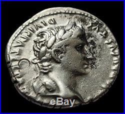 Denier Auguste, Caius Et Lucius. Rrr Contremarque