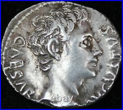 Denier Auguste Colonia Patricia -19 AC