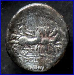Denier CLAUDIA (111-110 Av. J. C.) Victoria Romaine argent / silver roman