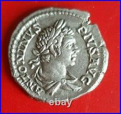 Denier Caracalla 205 Rome en Argent
