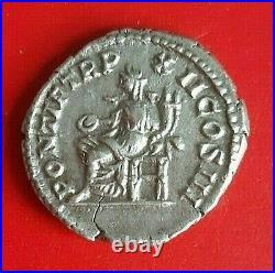 Denier Caracalla 210 Rome en Argent