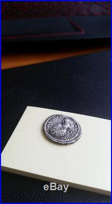 @@@ Denier Caracalla Le Maître du Monde An 201 ROME @@@