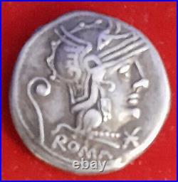 Denier De Rome En 127 Avant Jc Servilia