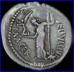 Denier Jules César Rome 44 AC