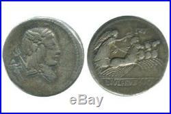 Denier L. Julius Burso République Romaine 85 avJC